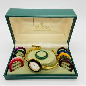 Authentic Vintage Gucci Bangle Bracelet Watch